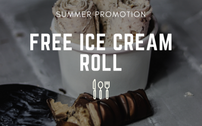Free Ice Cream Roll this Summer at Steak Rock Grill, Luton